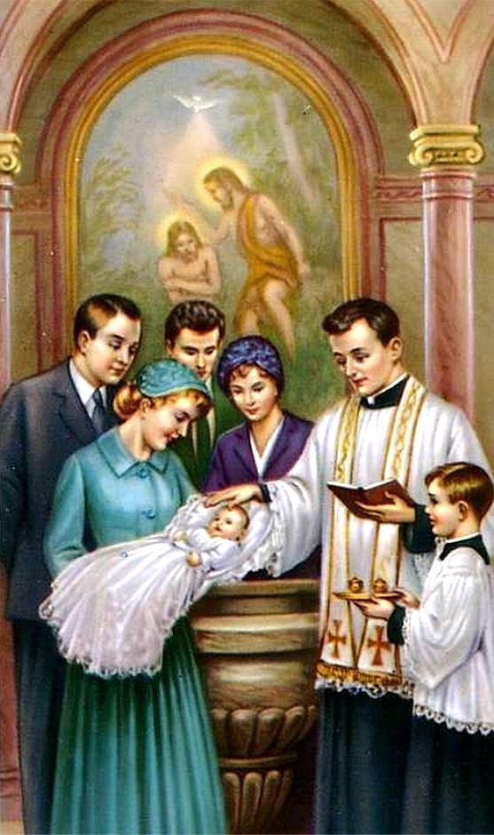 Картинка про крещения